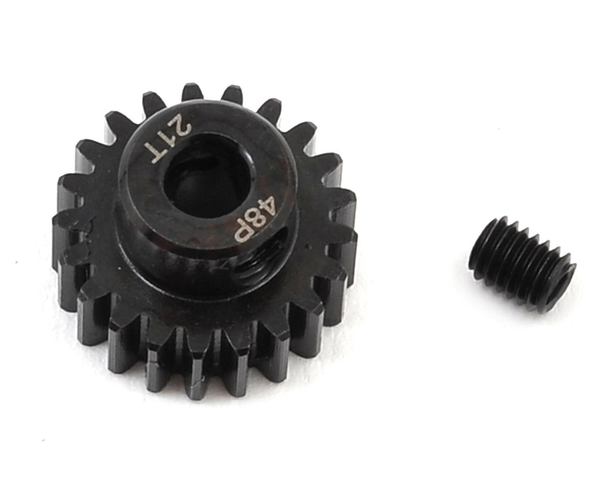 Radient 48P Steel Pinion Gear (3.17mm Bore) (21T)