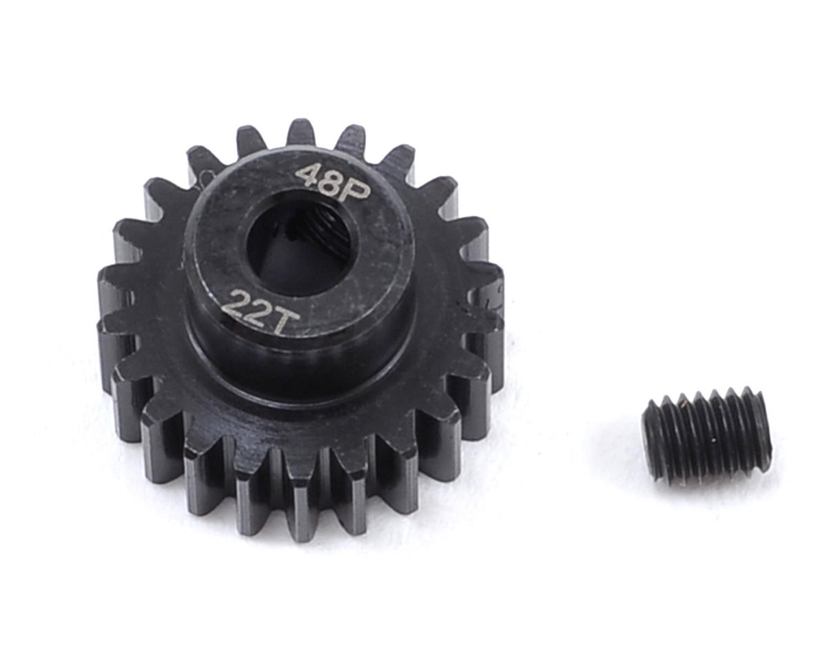 Radient 48P Steel Pinion Gear (3.17mm Bore) (22T)