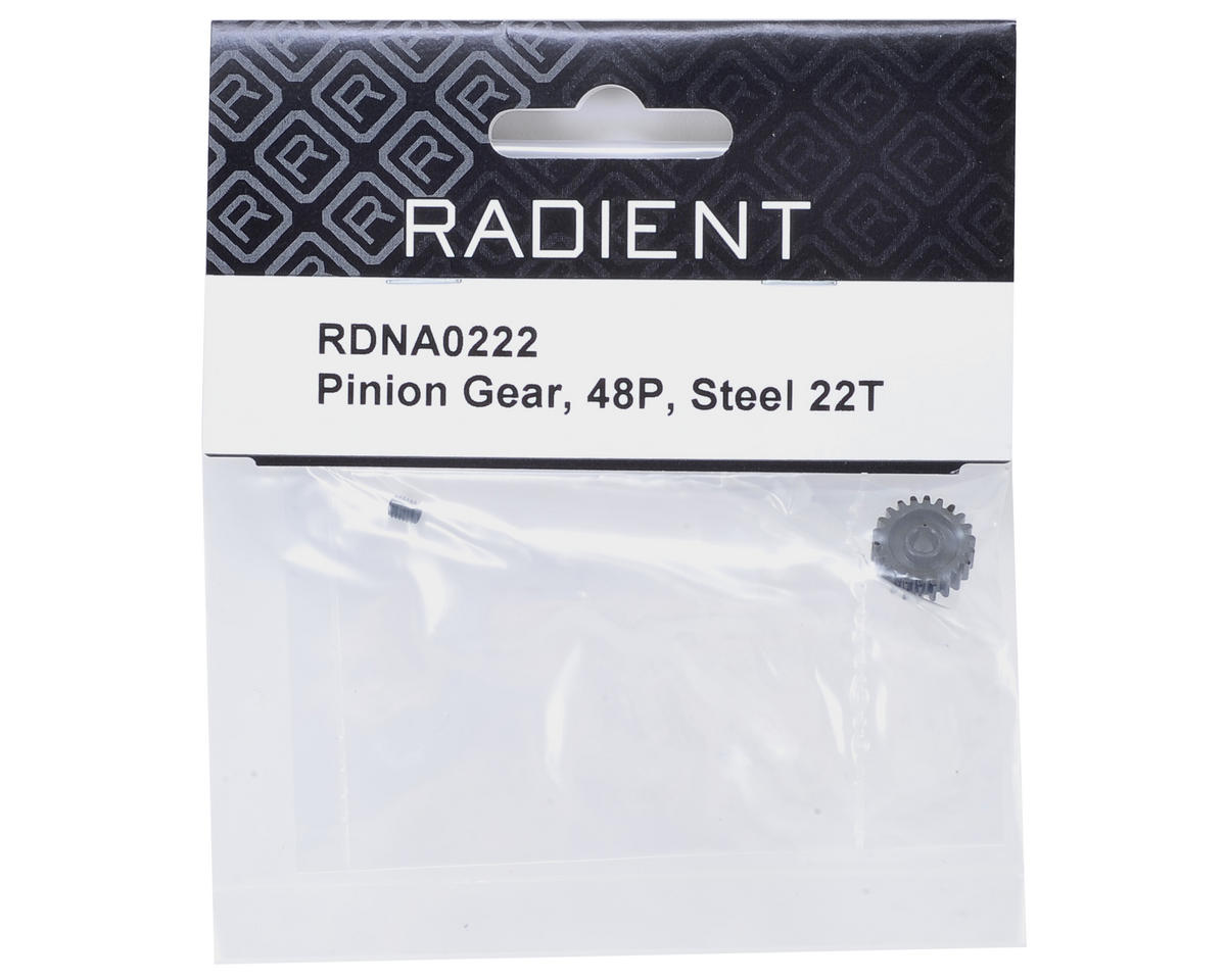 Radient 48P Steel Pinion Gear (22T)