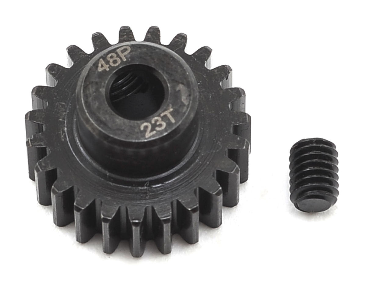 48P Steel Pinion Gear (3.17mm Bore) (23T) by Radient