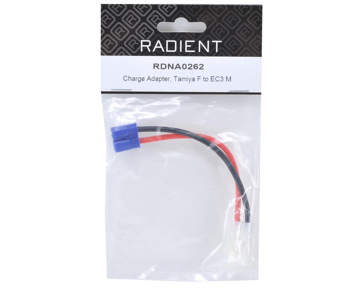 Radient Charge Adapter (Tamiya Female to EC3 Male)