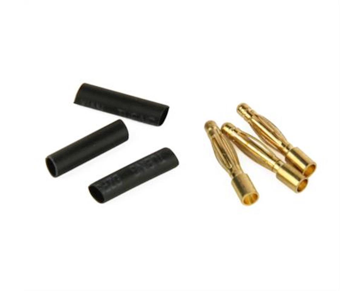 Radient Bullet Connectors, 2mm M (3)