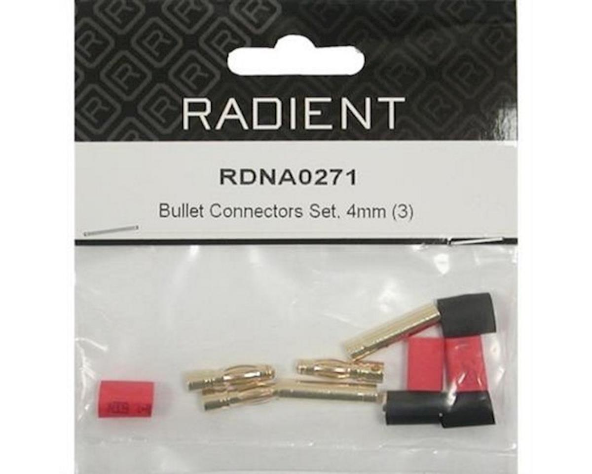 Radient Bullet Connectors Set, 4mm (3)