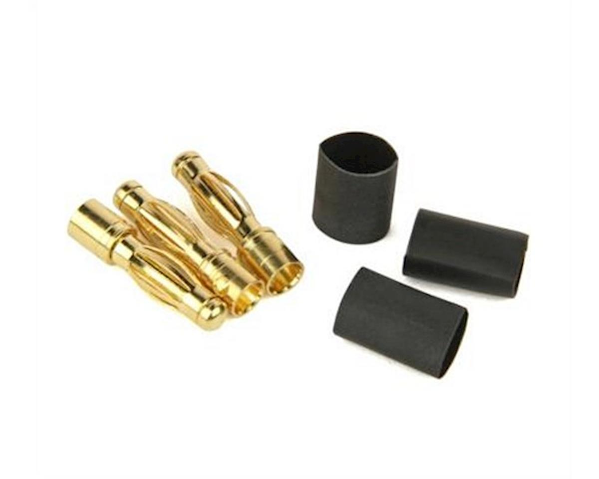 Radient Bullet Connectors, 4mm M (3)