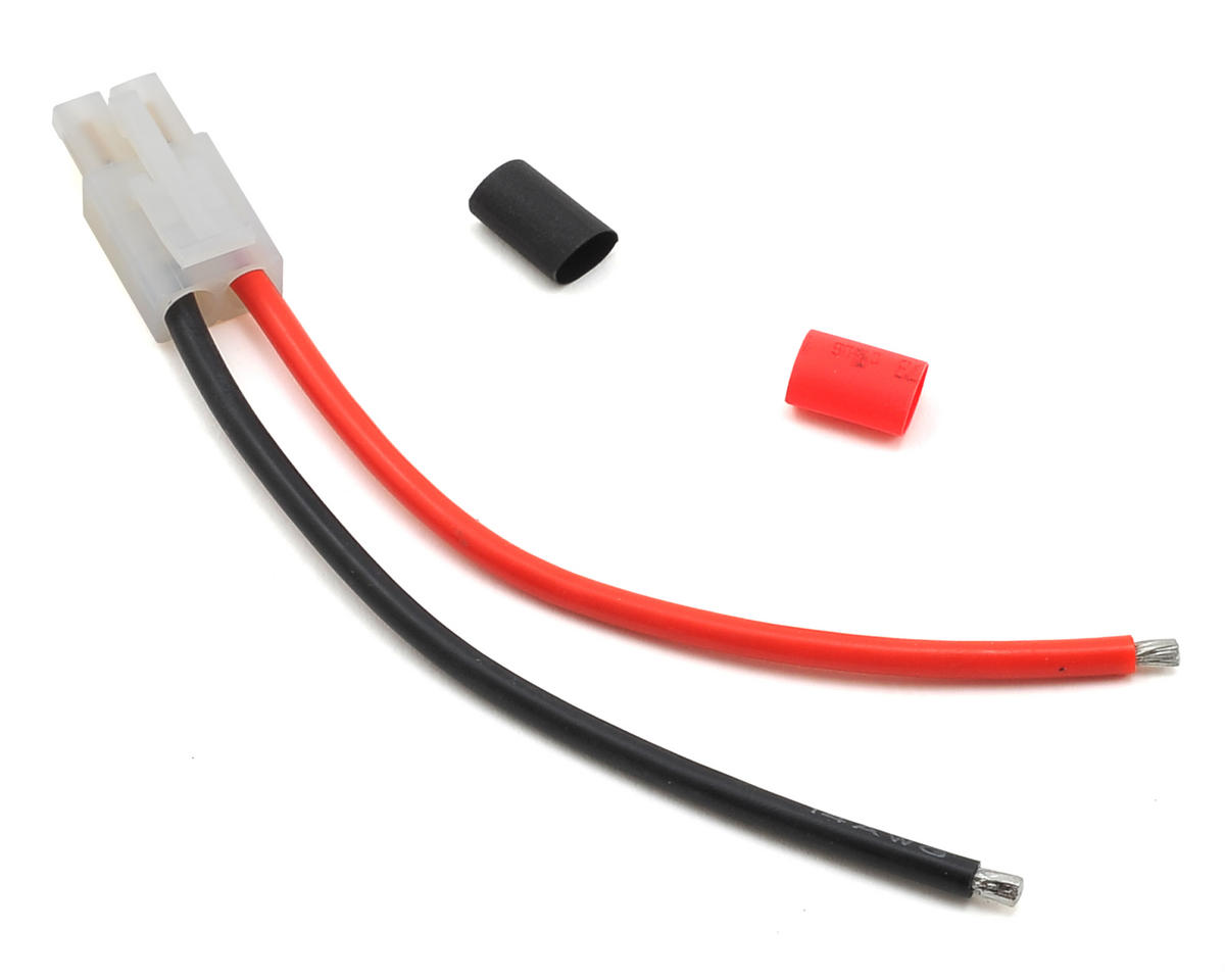 """Radient 4"""" Tamiya Plug w/Pigtail (Male)"""