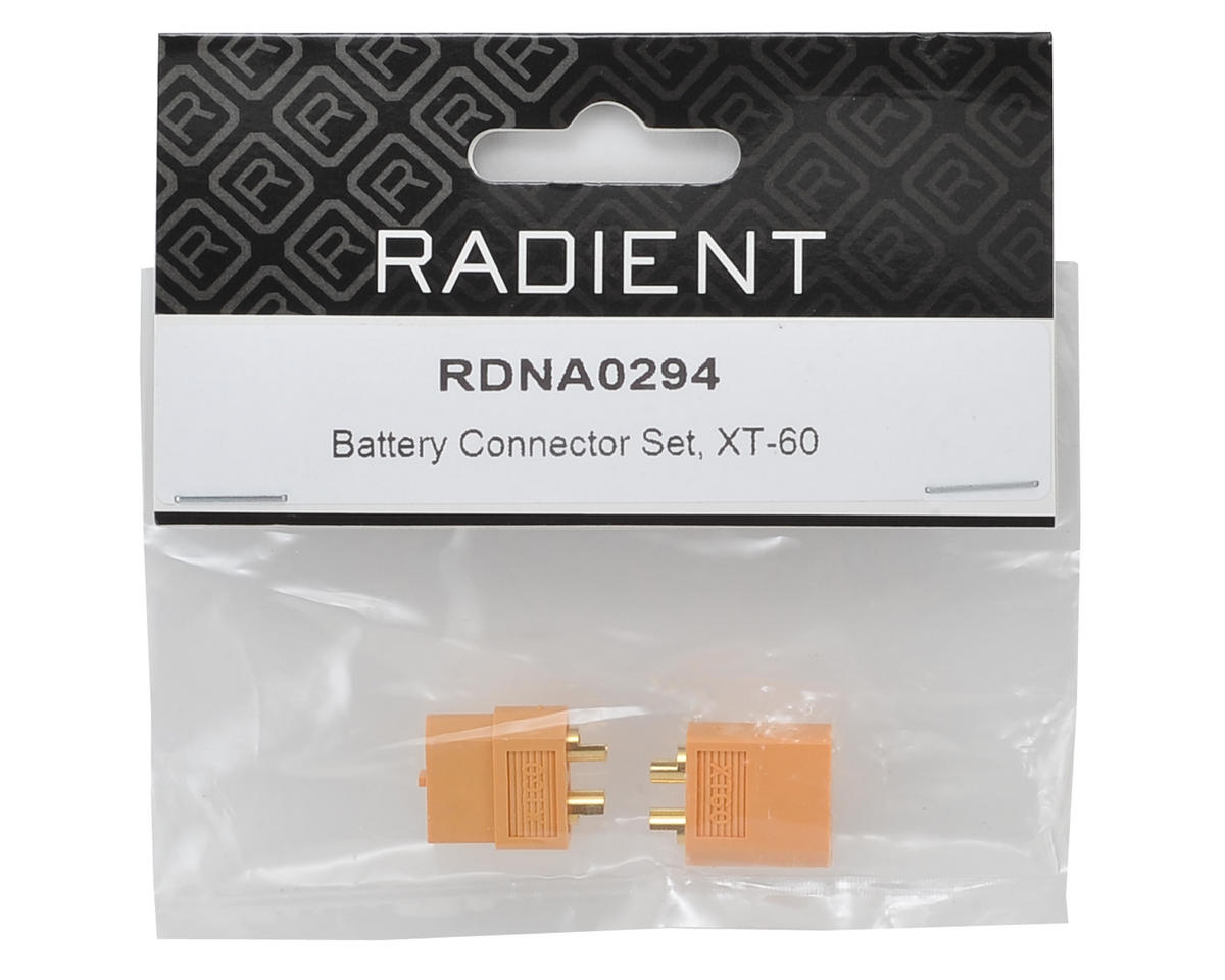 Radient XT-60 Battery Connector Set