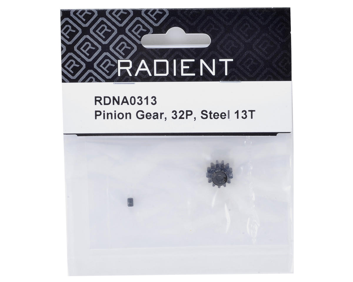 Radient 32P Steel Pinion Gear (13T)