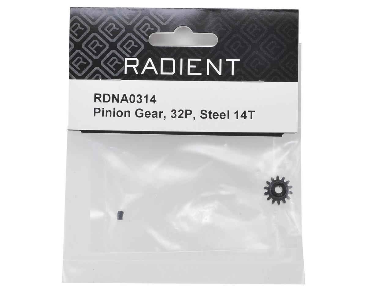 Radient 32P Steel Pinion Gear (14T)
