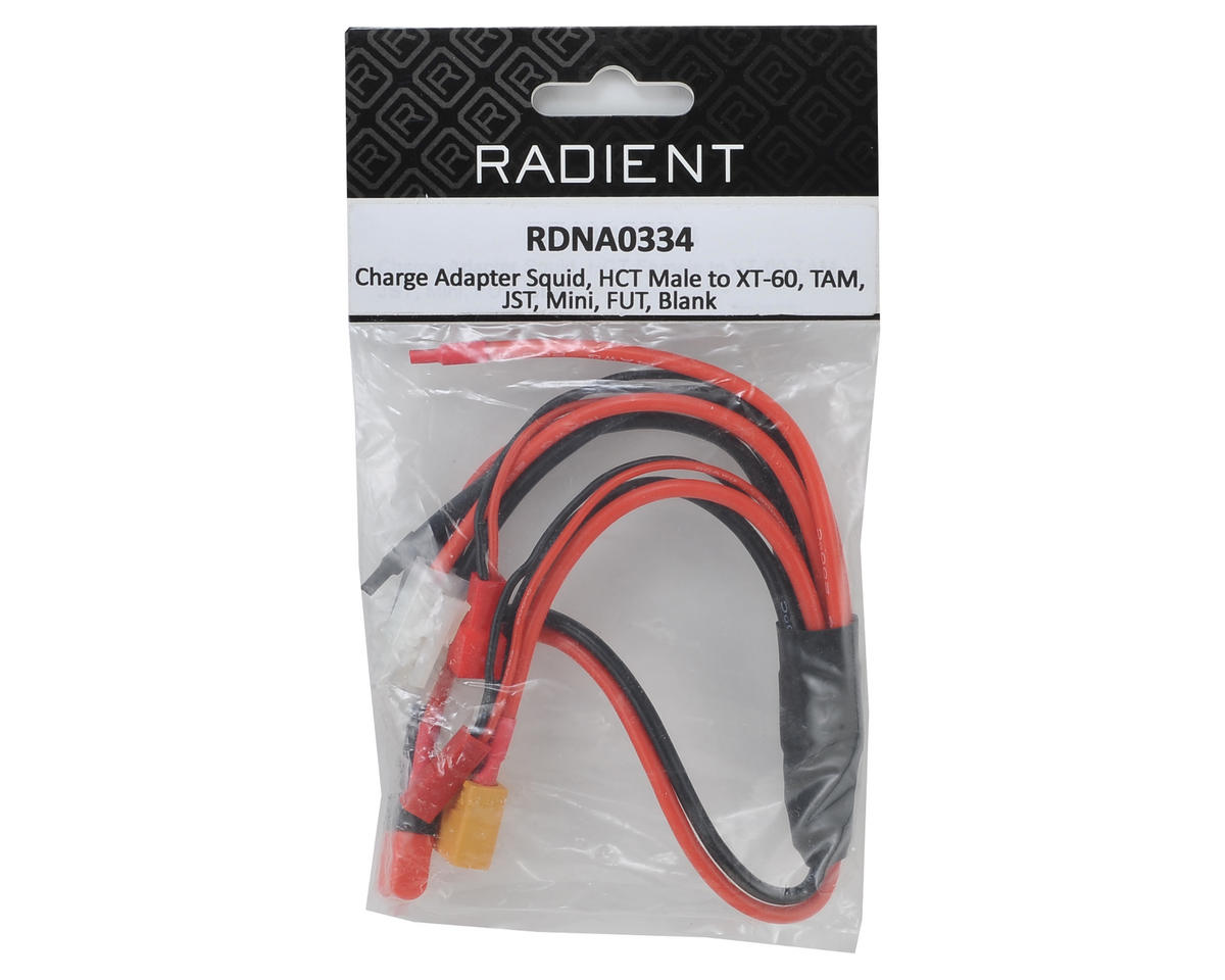 """Radient """"Squid"""" Multi Connector Charge Adapter"""
