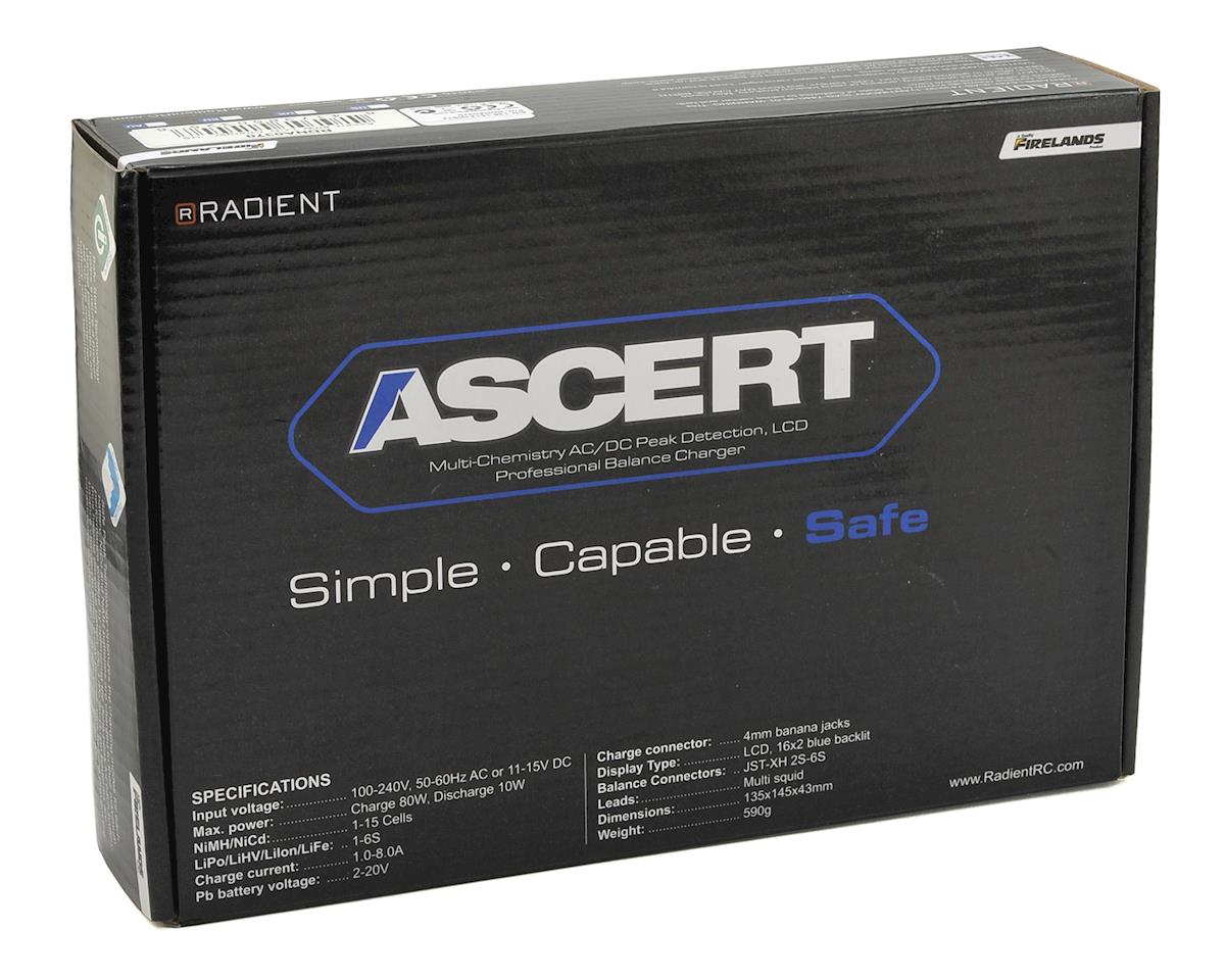 Radient Ascert 80W LCD AC/DC LiPo/LiHV Battery Charger (6S/8A/80W)