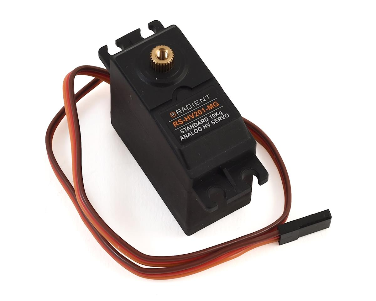 Radient RS-HV201-MG 10kg Metal Gear Servo (High Voltage)