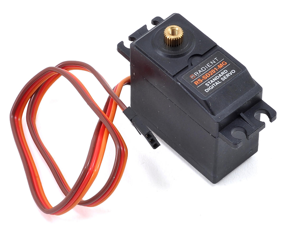 RS-SD201-MG Standard Metal Gear Digital Servo (High Voltage) by Radient