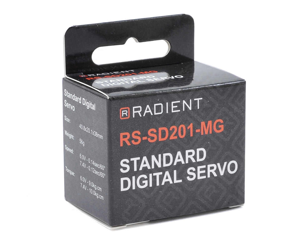 Radient RS-SD201-MG Standard Metal Gear Digital Servo (High Voltage)