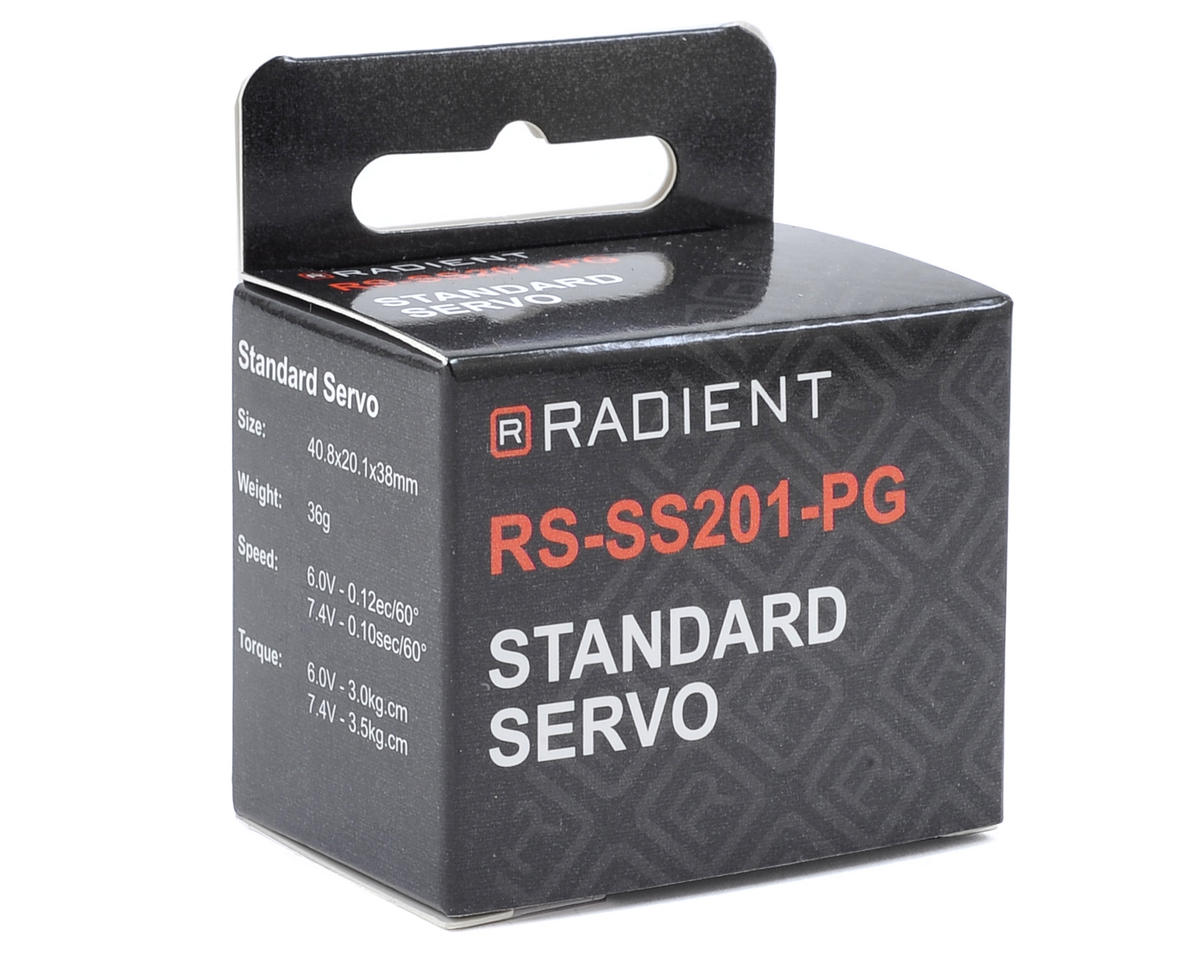 Radient RS-SS201-PG Standard Servo (High Voltage)