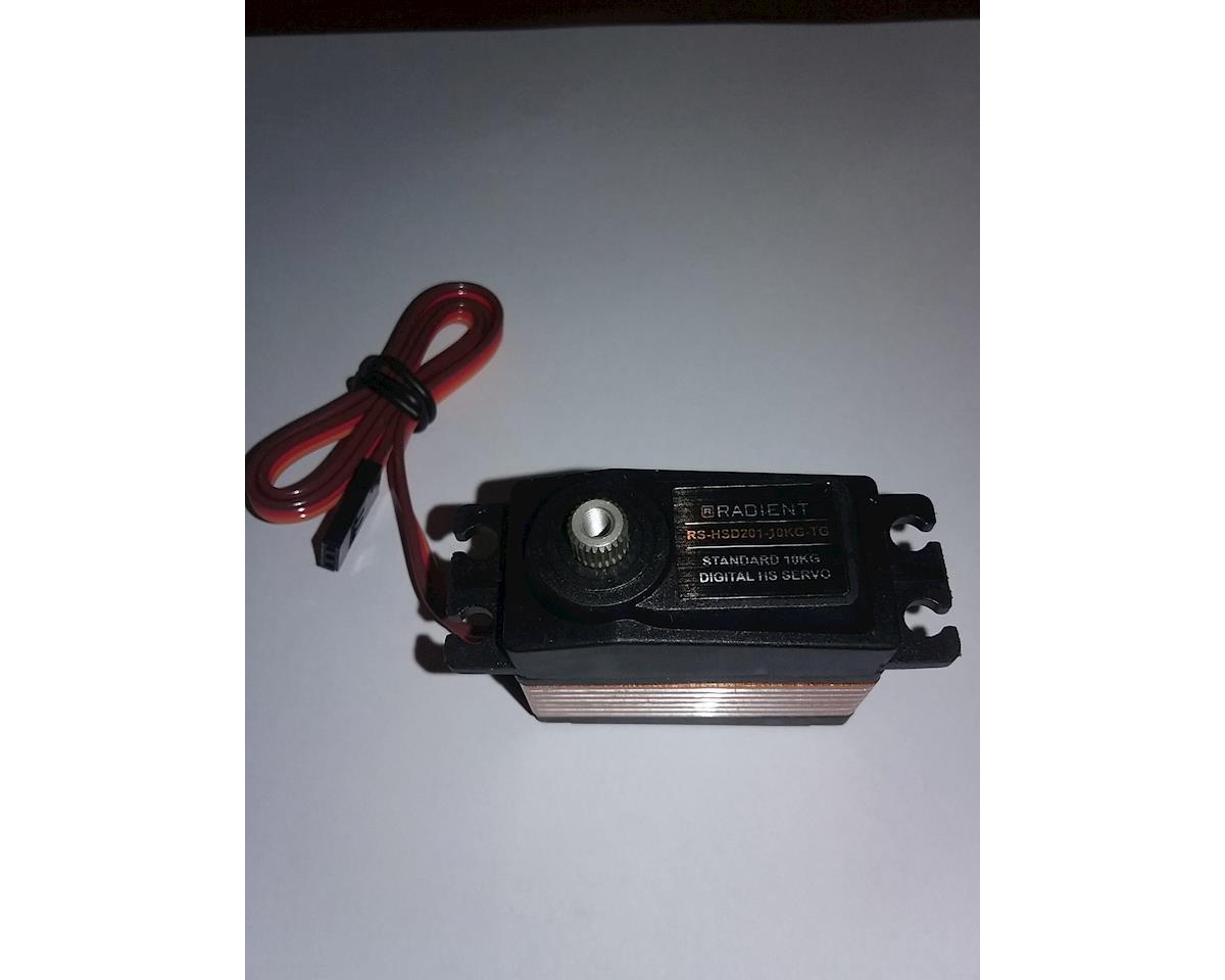 Radient RDNA0411 Standard 10KG Digital HS Servo