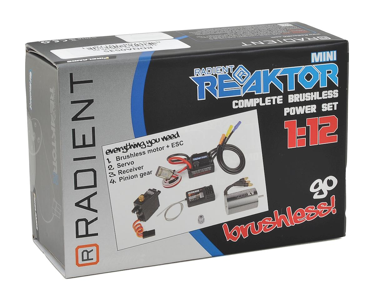 Radient Reaktor Mini 1/12 Brushless Complete Upgrade Kit