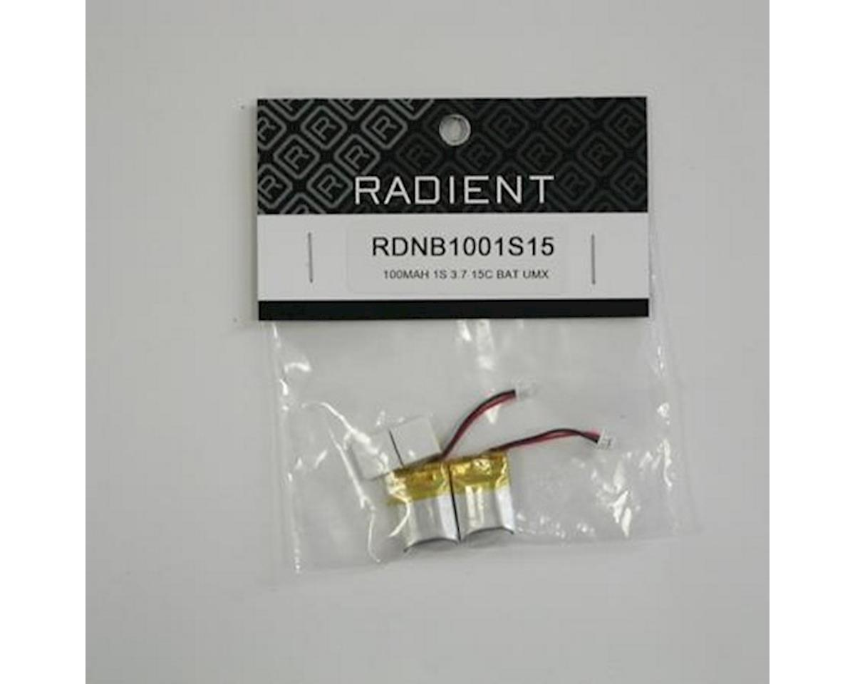 Radient 1S UMX LiPo Flight Battery (3.7V/100mAh)
