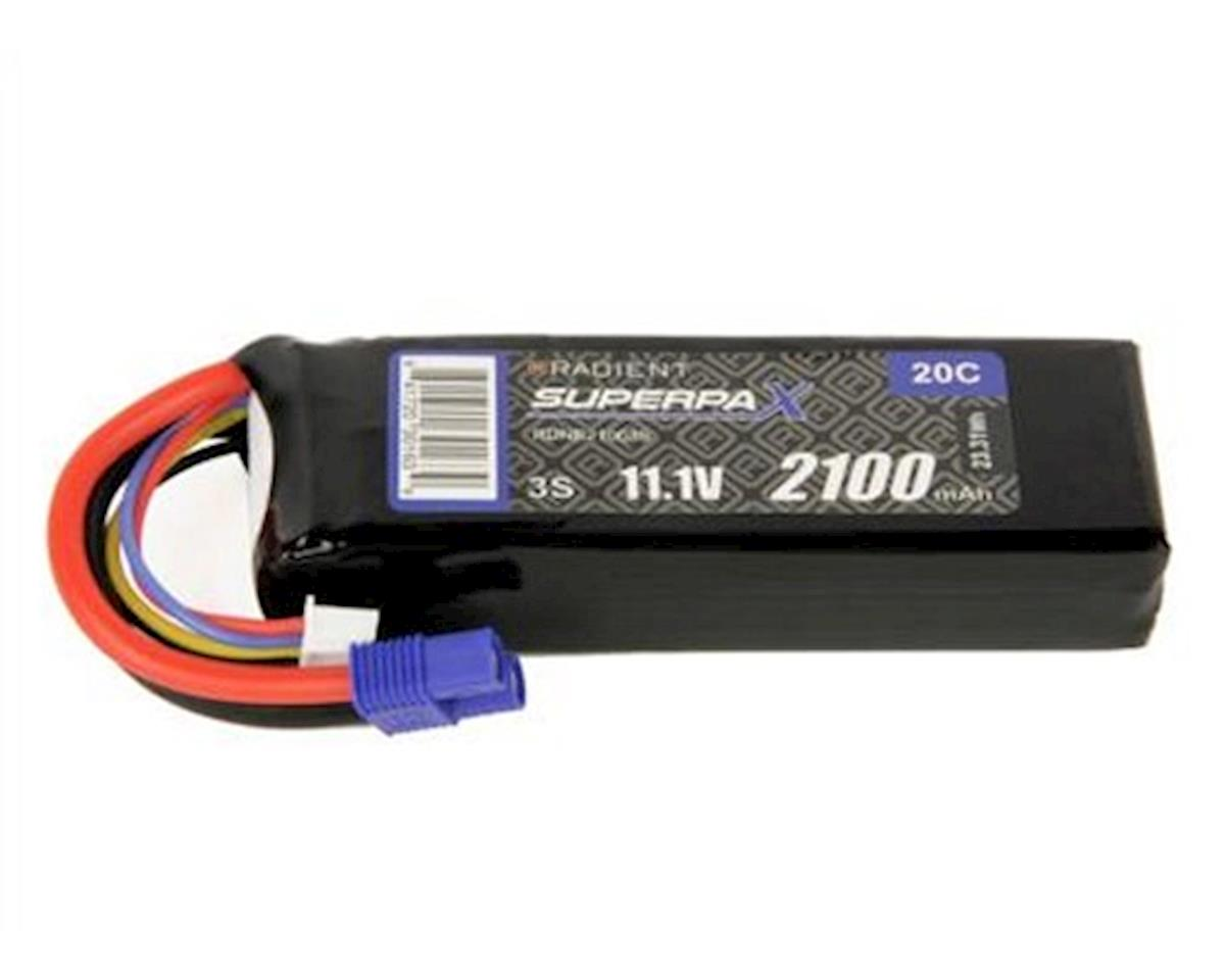 Radient 3S 20C LiPo Battery w/EC3 Connector (11.1V/2100mAh)