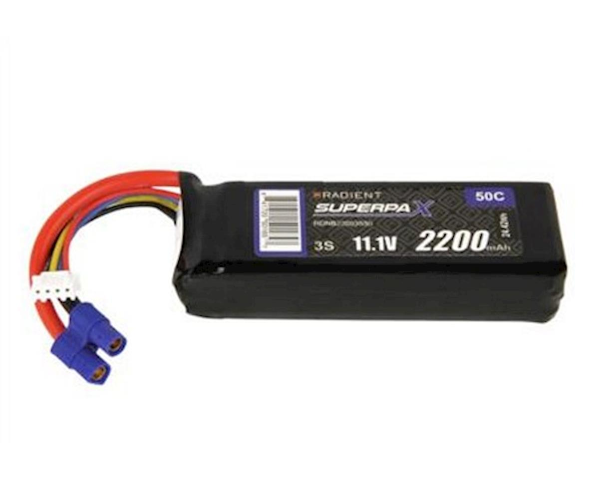 Radient 3S 50C LiPo Battery (11.1V/2200mAh)