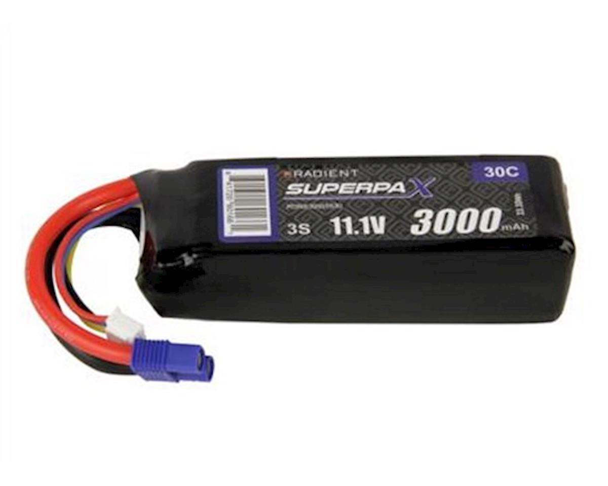 Radient 3S 30C LiPo Battery w/EC3 Connector (11.1V/3000mAh)