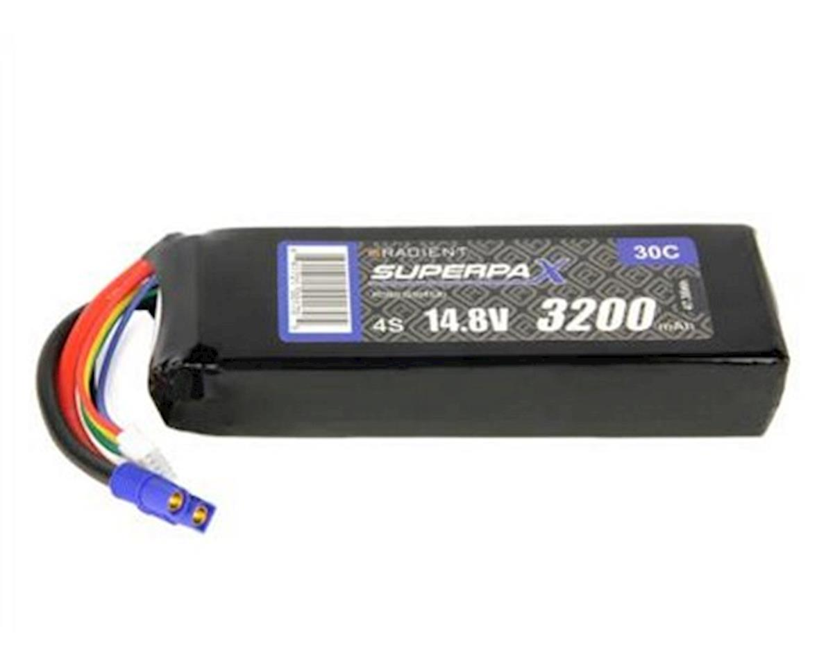 Radient 4S 30C LiPo Battery w/EC3 Connector (14.8V/3200mAh)