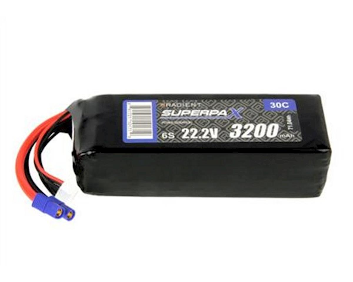 Radient 6S 30C LiPo Battery w/EC3 Connector (22.2V/3200mAh)