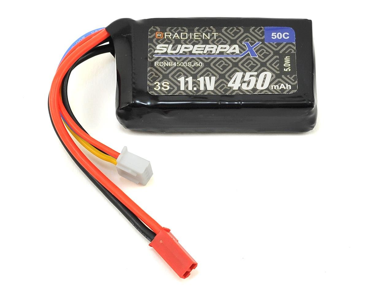 Radient 3S 30C LiPo Battery (11.1V/450mAh)