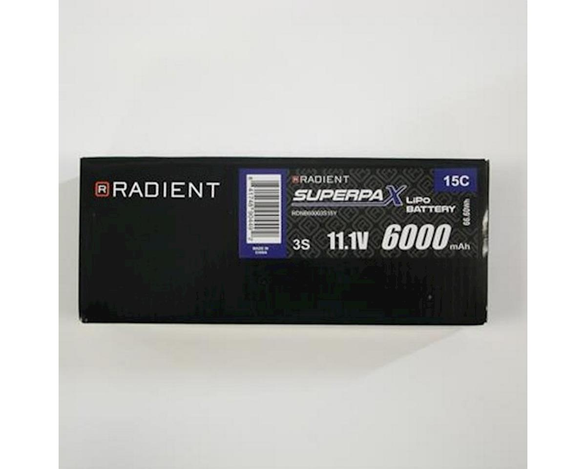 Radient 3S 15C Yuneec Q500 Flight LiPo Battery (11.1V/6000mAh)