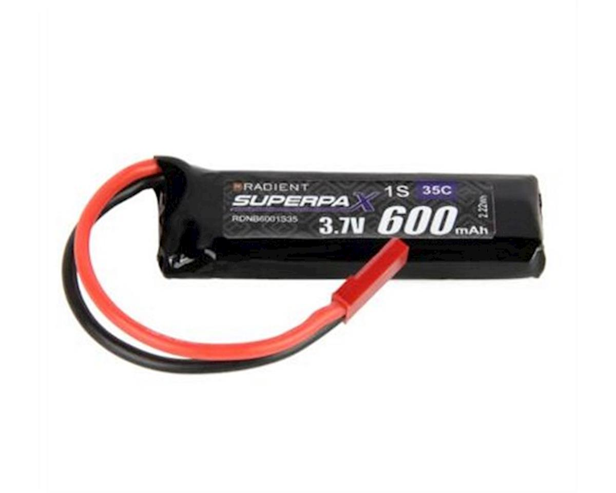 Radient 1S 35C LiPo Battery (3.7V/600mAh)