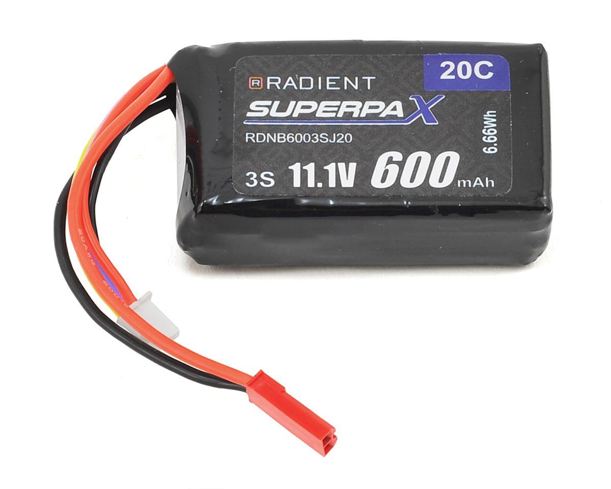 Radient 3S 20C LiPo Battery (11.1V/600mAh)