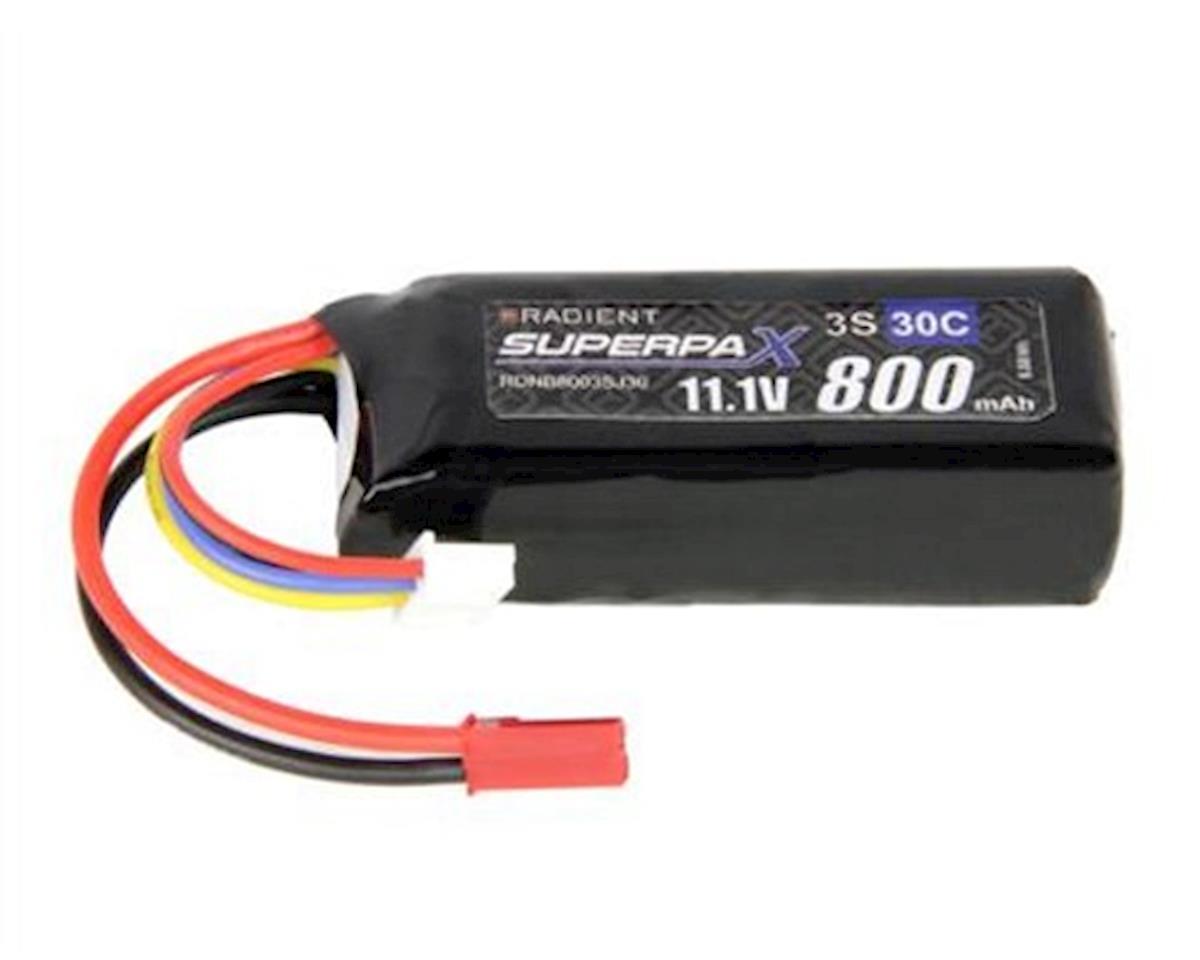 Radient 3S 30C LiPo Battery (11.1V/800mAh)