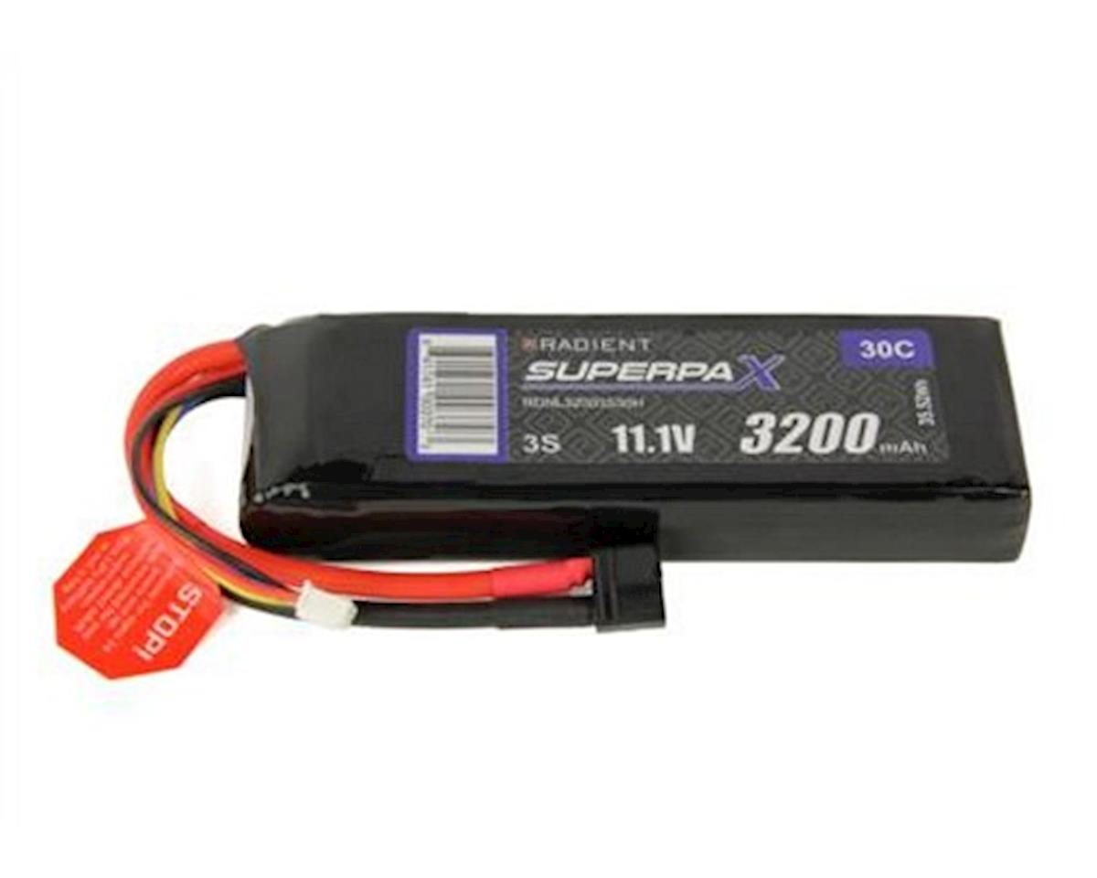 Radient 3S 30C LiPo Battery Pack w/T-Style Connector (11.1V/3200mAh)