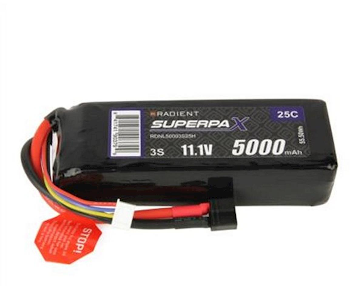 Radient 3S 25C LiPo Battery Pack w/T-Style Connector (11.1V/5000mAh)