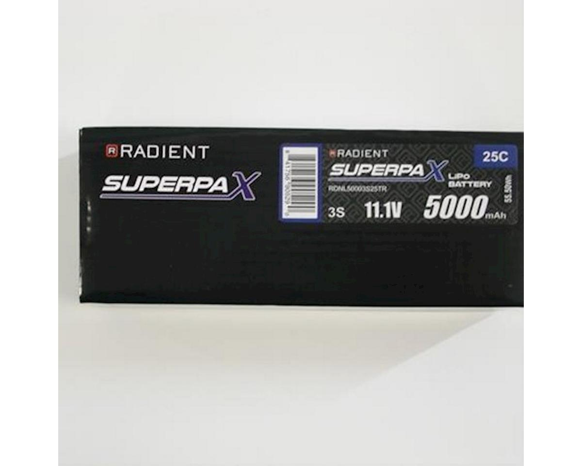Radient 3S 25C LiPo Battery Pack w/Traxxas Connector (11.1V/5000mAh)