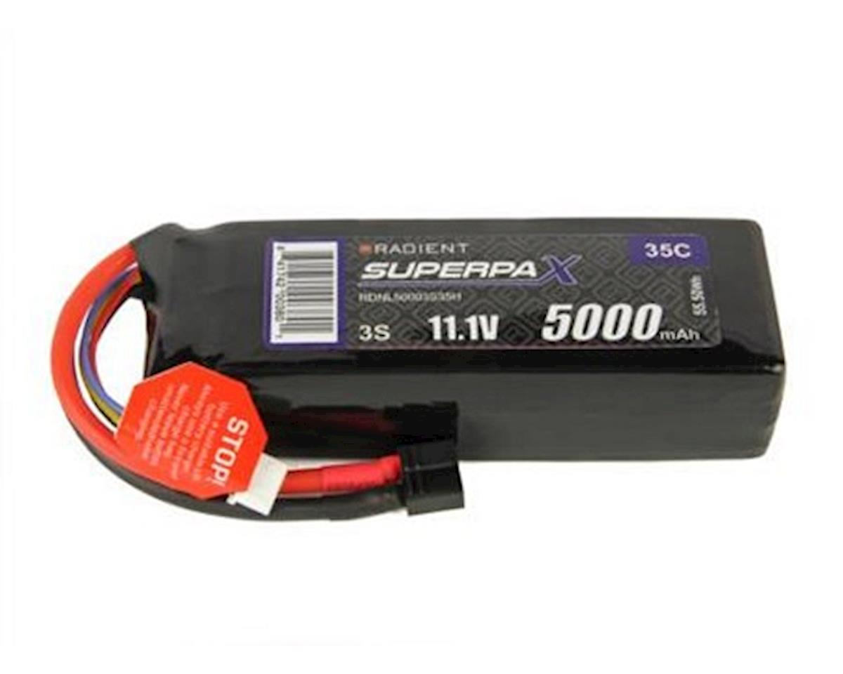 3S 35C LiPo Battery Pack w/T-Style Connector (11.1V/5000mAh) by Radient