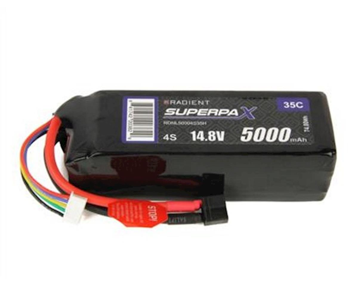 Radient 4S 35C LiPo Battery Pack w/T-Style Connector (14.8V/5000mAh)