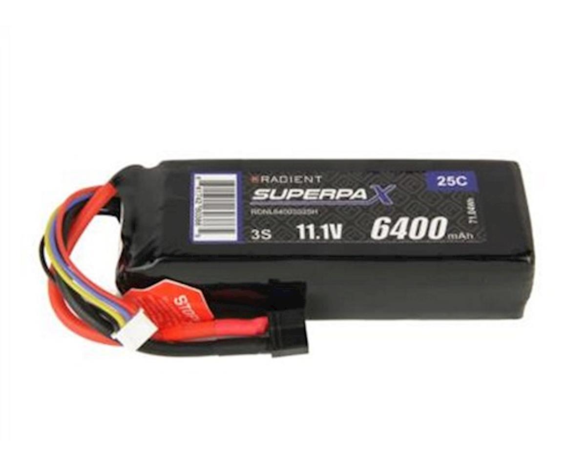 Radient 3S 25C LiPo Battery (11.1V/6400mAh)