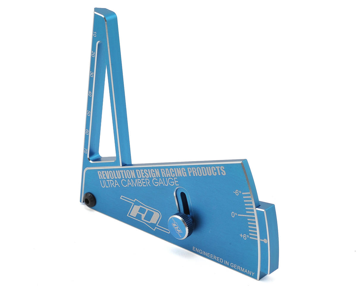 Revolution Design Ultra Camber Gauge R2 (Light Blue)