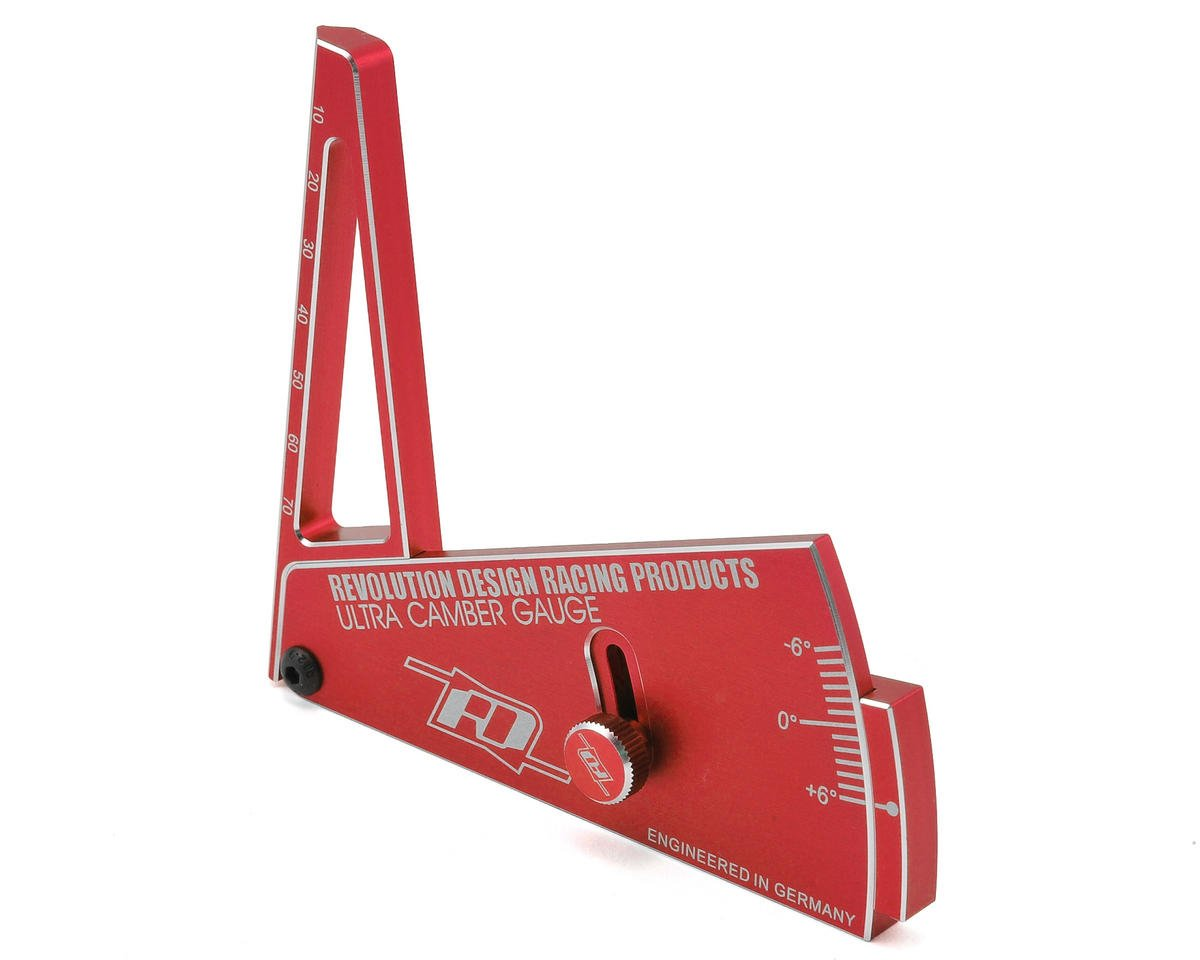 Revolution Design Ultra Camber Gauge R2 (Red)