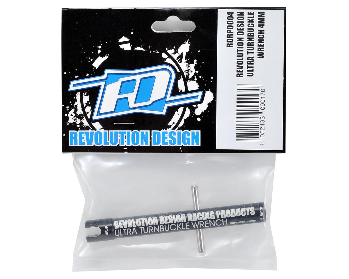 Revolution Design 4mm Ultra Turnbuckle Wrench