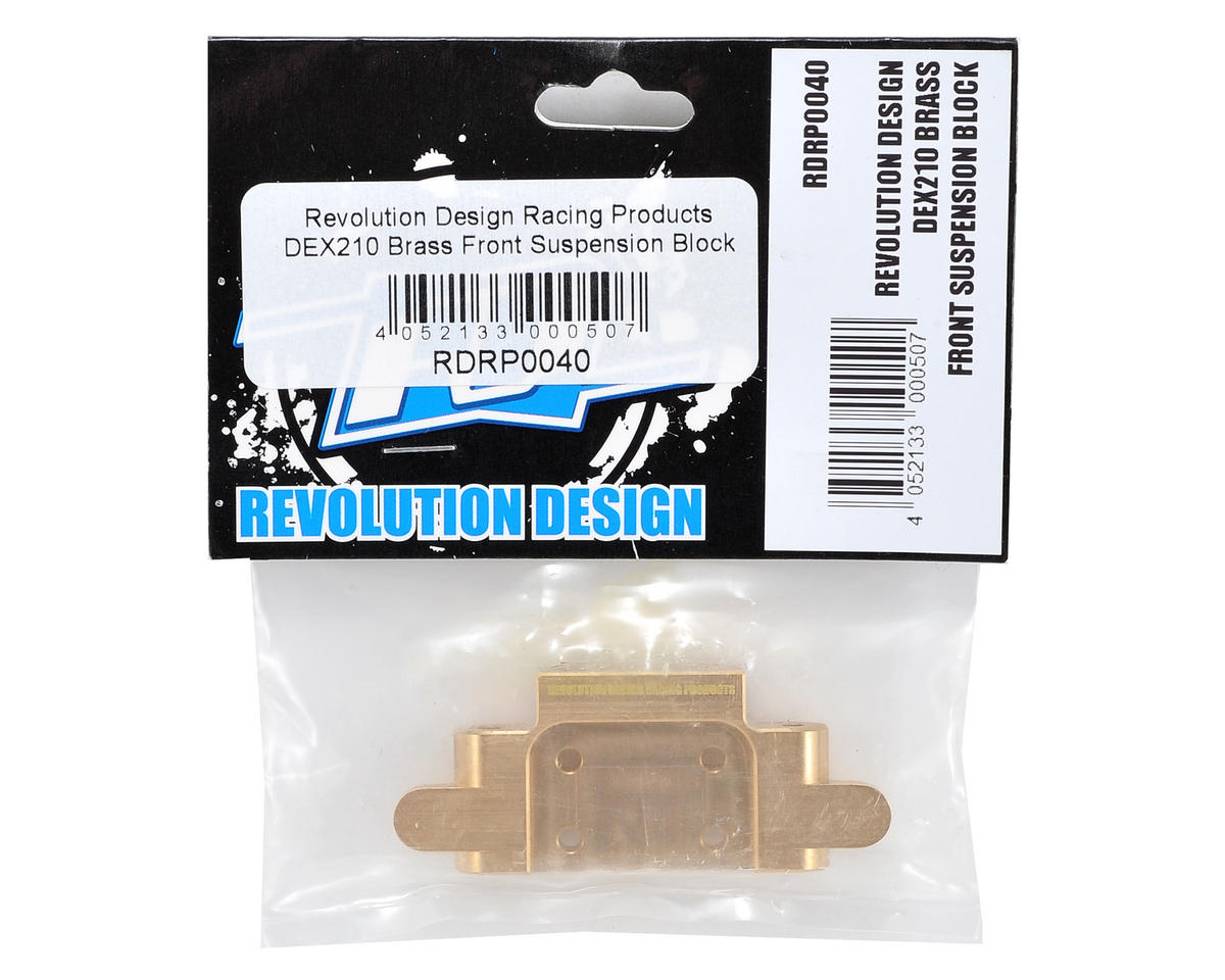 Revolution Design Brass Front Suspension Block