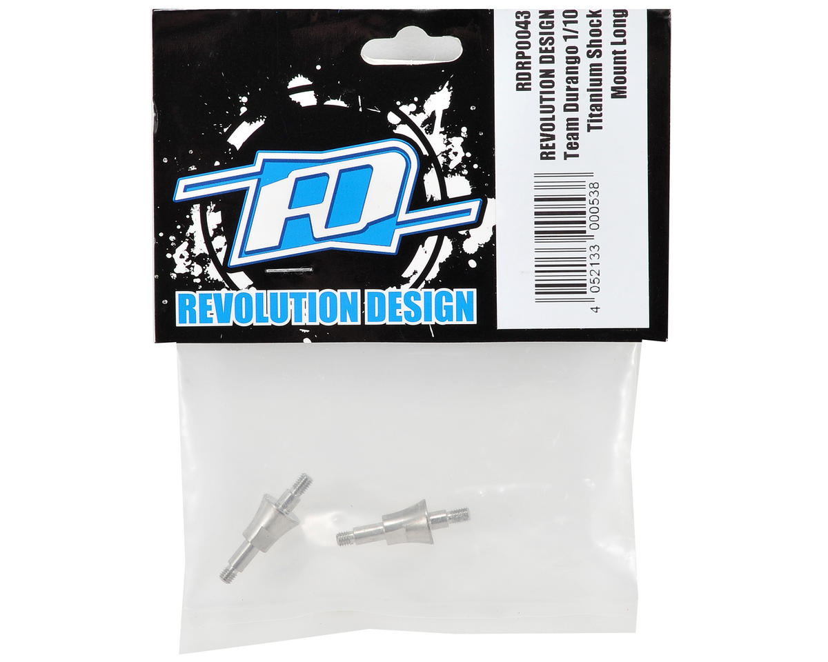 Revolution Design Durango Titanium Long Shock Mount Set (2)