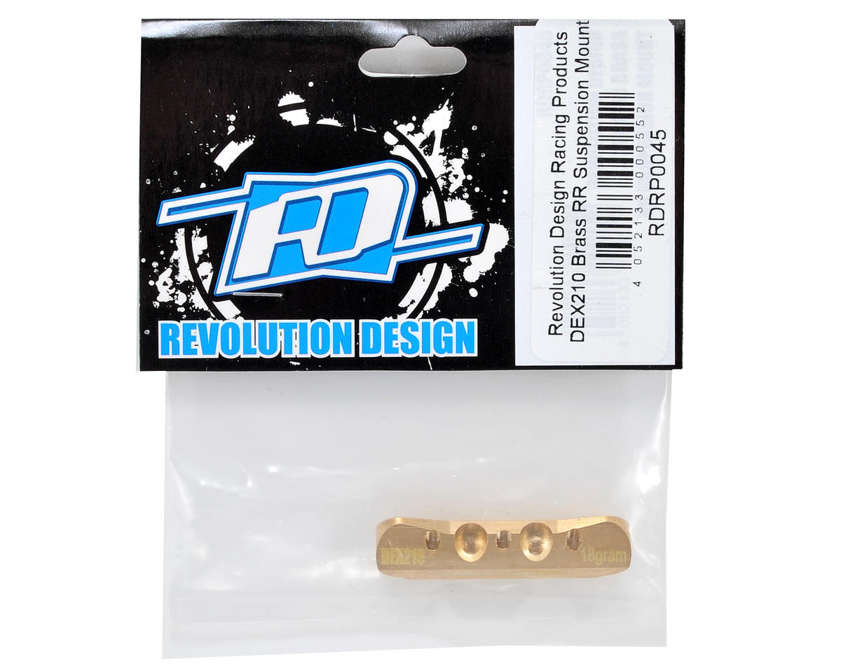 Revolution Design Brass RR Suspension Mount