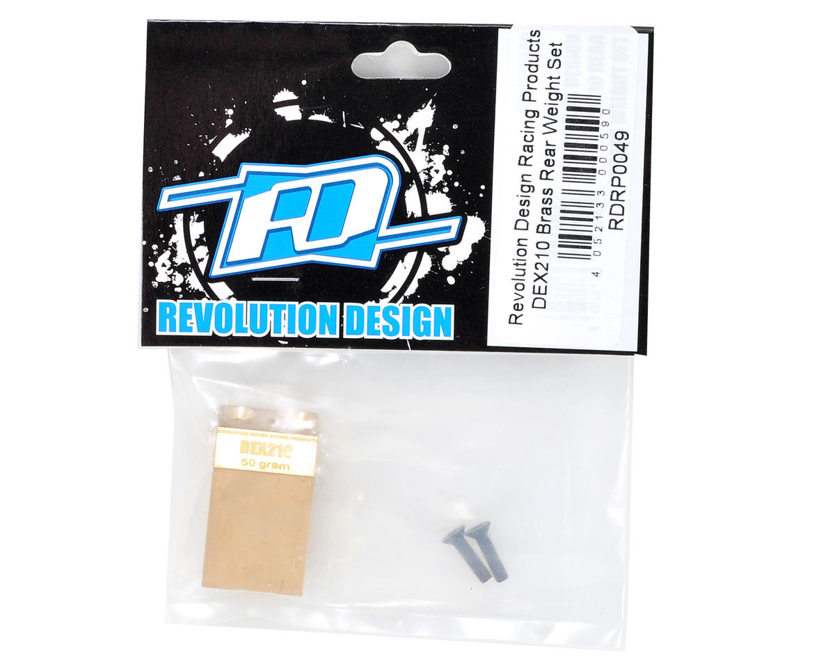 Revolution Design Brass Rear Weight
