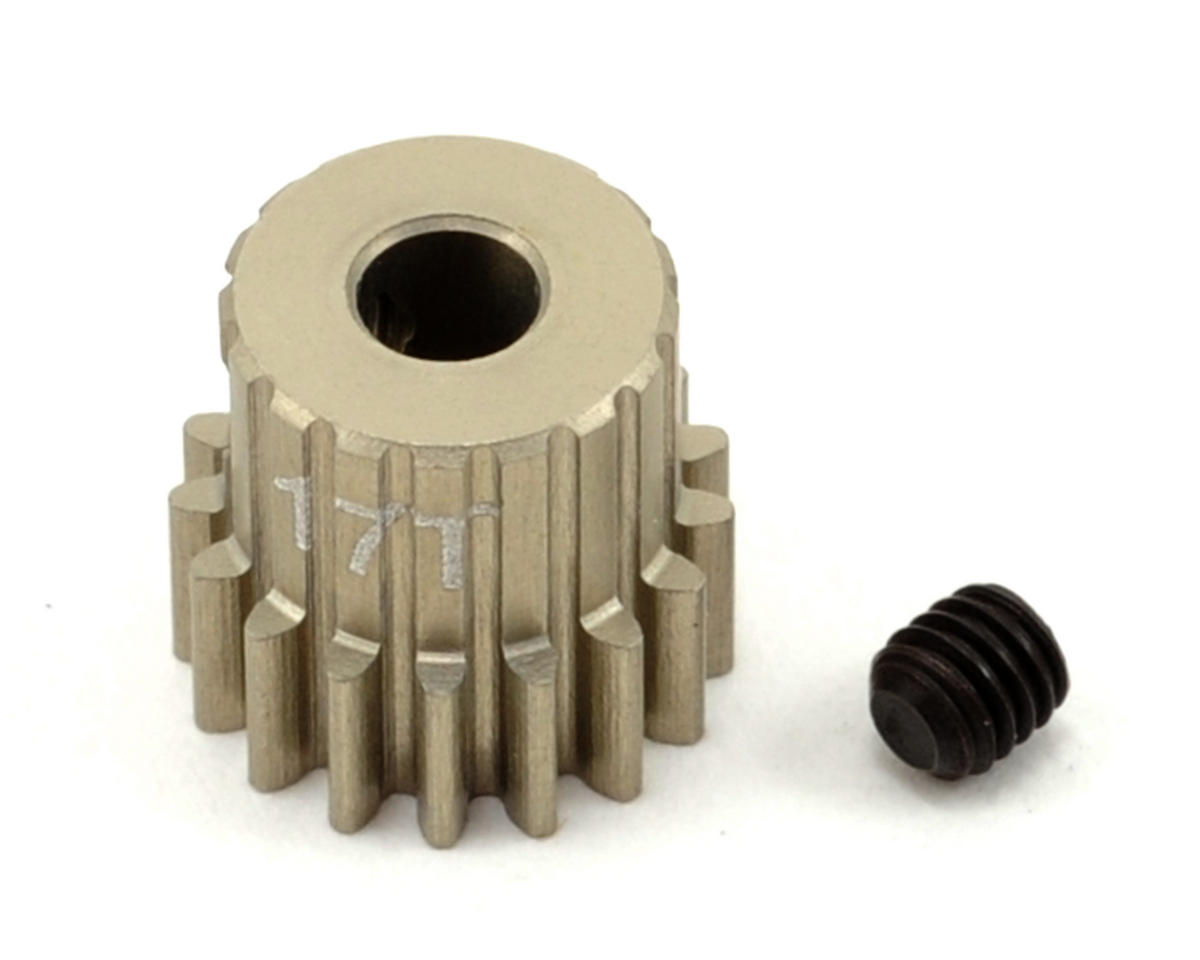 Revolution Design 48P Aluminum Hard Coated Ultra Pinion Gear (3.17mm Bore) (17T)