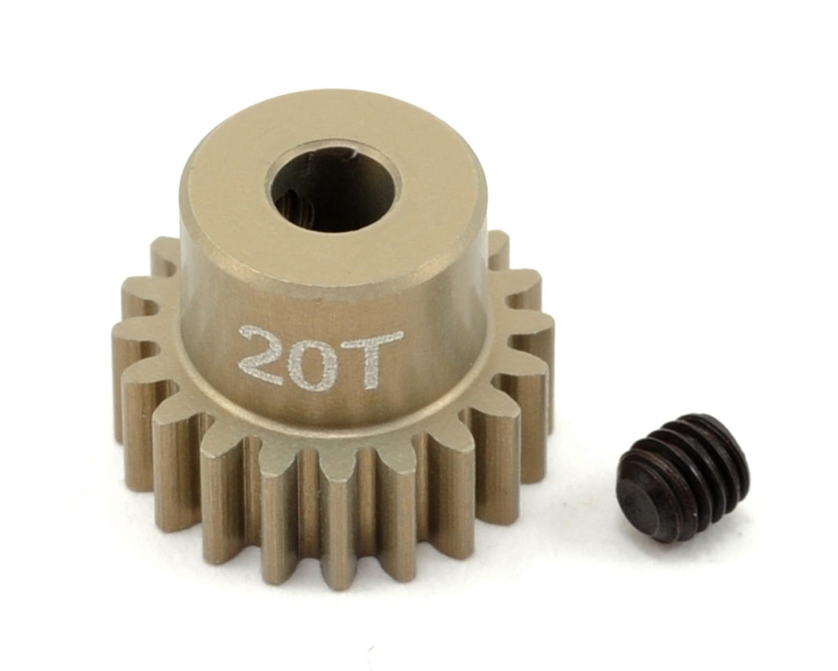 Revolution Design 48P Aluminum Hard Coated Ultra Pinion Gear (3.17mm Bore) (20T)