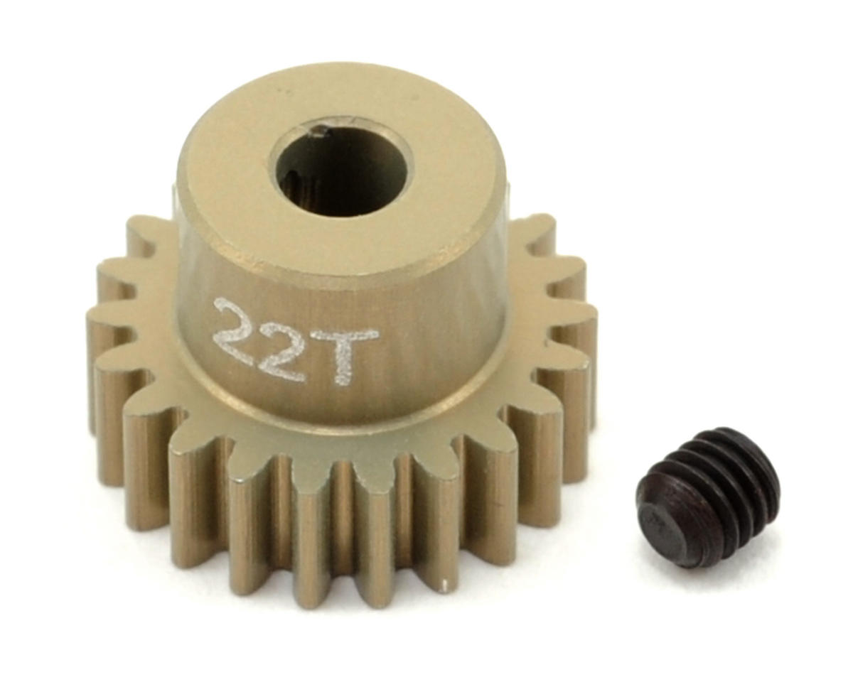 Revolution Design 48P Aluminum Hard Coated Ultra Pinion Gear (3.17mm Bore) (22T)