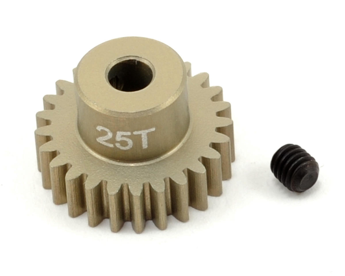 Revolution Design 48P Aluminum Hard Coated Ultra Pinion Gear (3.17mm Bore) (25T)