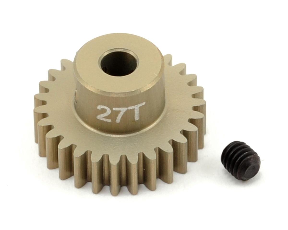 48P Aluminum Hard Coated Ultra Pinion Gear (3.17mm Bore) (27T) by Revolution Design