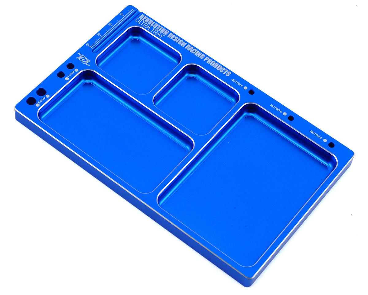Ultra Parts Tray (Dark Blue) by Revolution Design